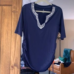 Land's End bathing suit cover top